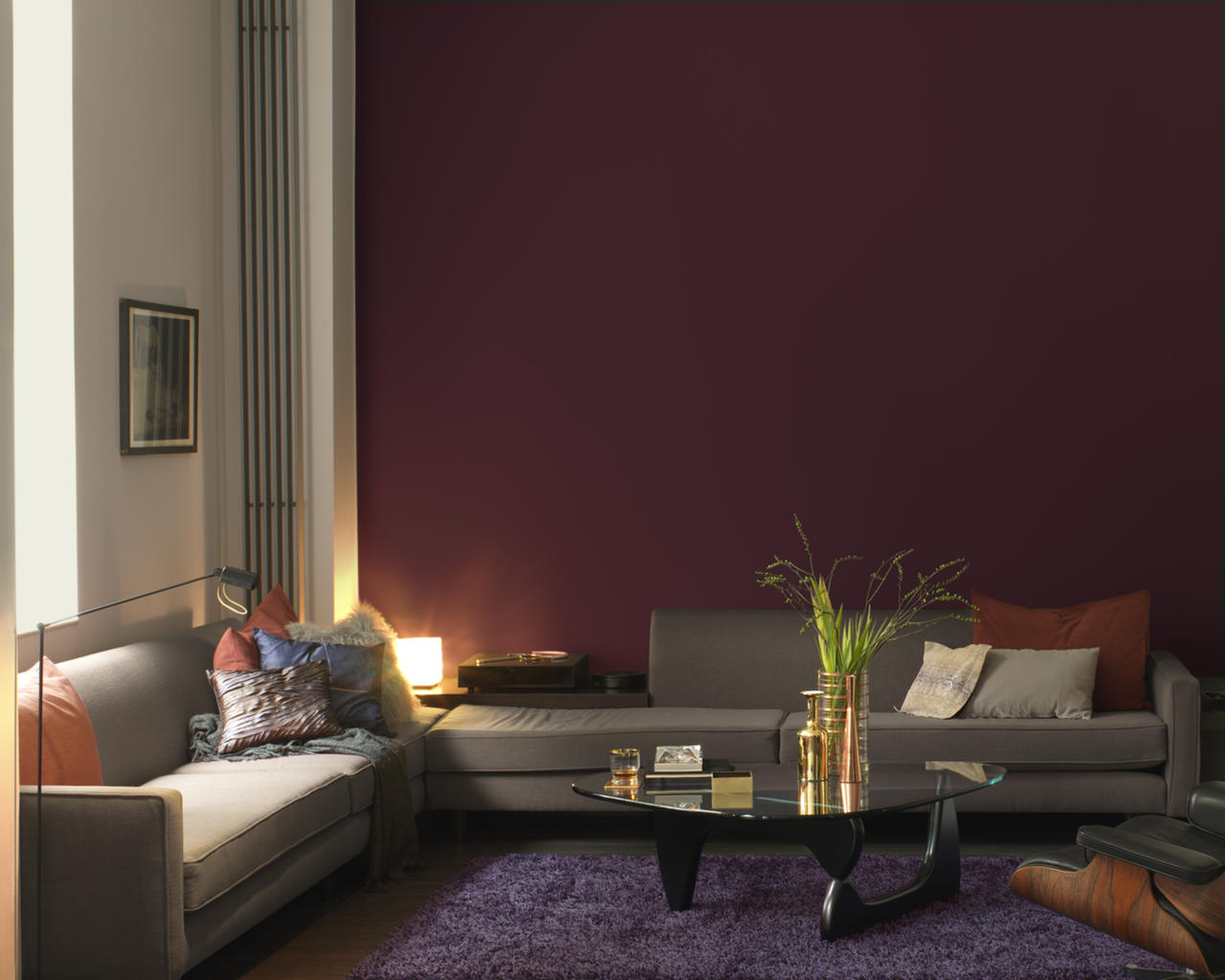 use colour to create a cosy living room dulux. Black Bedroom Furniture Sets. Home Design Ideas